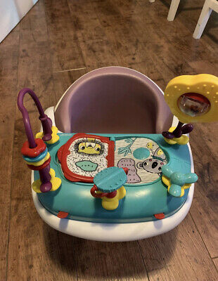 Mamas And Papas Seat With Activity Tray - Dusk Rose • 30£