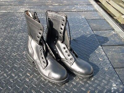 $35 • Buy 1 Pair...size 5.5 N  Narrow   Military Leather Combat Boots  Military  Surplus