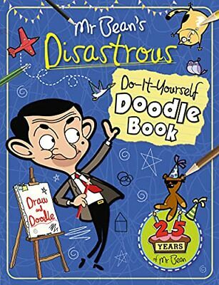 £5.99 • Buy Mr Bean's Disastrous Do-it-Yourself Doodle Book By Anna Brett Book The Cheap