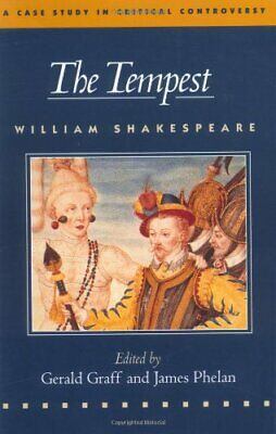 The Tempest (Case Studies In Critical Controversy) By Shakespeare, William Book • 13.99£