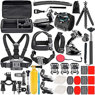 AU36.99 • Buy Action Camera Accessories Kit, Neewer 50-in-1 For GoPro Hero 8 Max 7 6 5 4