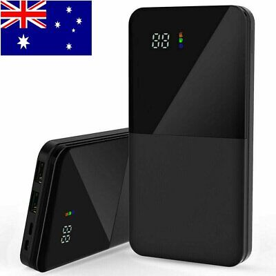 AU25.99 • Buy Portable 900000mAh Power Bank Charger Backup Battery 2USB For All Mobile Phone
