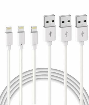 AU18.48 • Buy Quntis IPhone Charger Lightning Cable - MFi Certified 3Pack USB A - BRAND NEW
