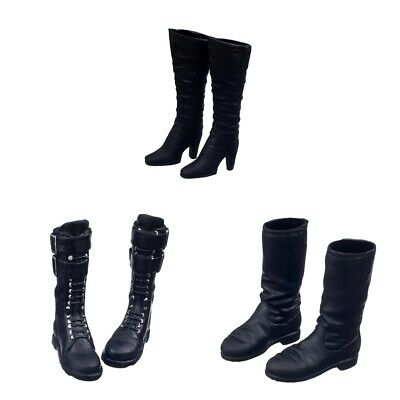 $9.54 • Buy 1/6 Female Mid-calf Long Boots For 12inch  //Enterbay Figures