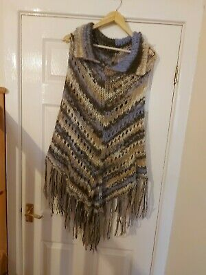 M&S Limited Collection. Mohair Mix Poncho.one Size  • 5.99£
