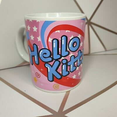 Kinnerton Sanrio 1976 2010 Pink Hello Kitty Lollipop Mug Anime Cup ☆ FREE P&P☆ • 10.99£