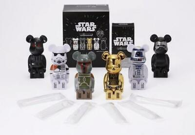 $112.99 • Buy Medicom Toy Cleverin BE@RBRICK Bearbrick Star Wars All 6 Complete Set NEW Rare