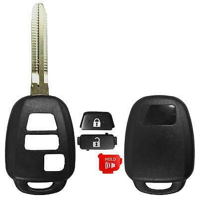 $ CDN6.99 • Buy NEW 3 Button Shell Case For Toyota Remote Head Key - GQ4-52T 89070-0R121 H Stamp