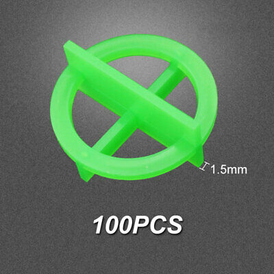 £7.21 • Buy 100Pcs Cross Tile Leveling System Spacers Recyclable Plastic Tools 1.5/2/3mm New