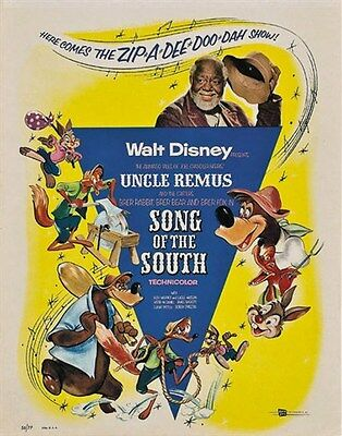 $ CDN4.43 • Buy Song Of The South Disney Cult Movie Poster Print #2