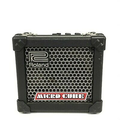AU99.15 • Buy Power Tested Only - Roland MICRO CUBE Portable Guitar Amp [HJ]