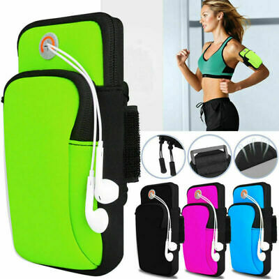 AU20.99 • Buy For Mobile Phone Armband Pouch Case Sports GYM Running Exercise Arm Band Holder