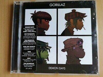 Gorillaz : Demon Days CD - Featuring Dare (2005)  • 0.99£