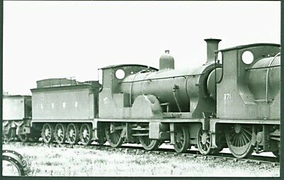 LSWR E10 4-4-0 No. 369 At Eastleigh In 1926. H C Casserley PC Sized Photograph • 2.50£