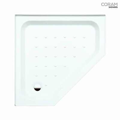 £79 • Buy CORAM Shower Tray For Enclosure Pentagon 900 X 900mm WHITE YDP90WHI