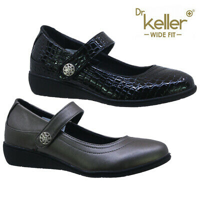 Ladies Comfort Flat Casual Walking Office Mary Jane Pumps Loafers Shoes Size  • 8.95£