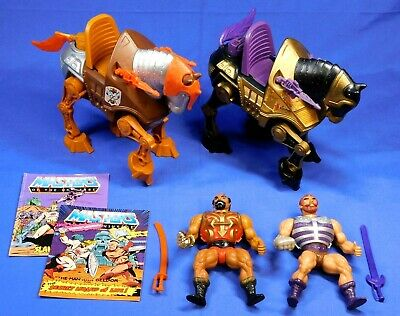 $84.99 • Buy Masters Of The Universe Vintage Lot Jitsu Fisto Strider, Night Stalker Complete