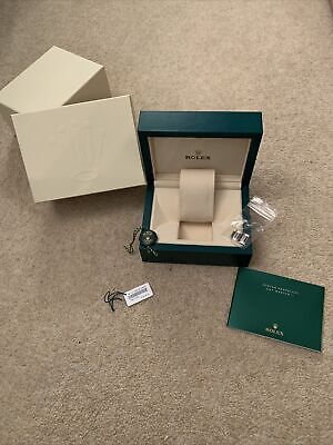 Rolex Presentation Box, Spare Links, Tags And Book • 32£