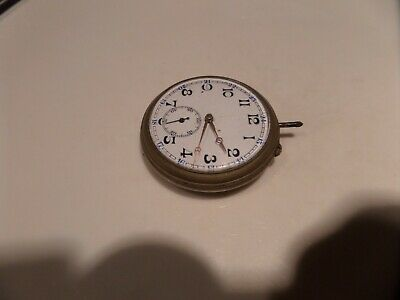 REMONTOIR ANCRE POCKET WATCH For Spares. No Silver Mark.  • 10£