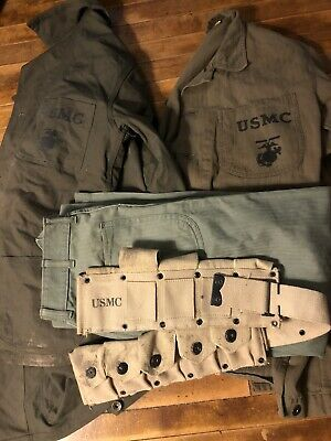 $90 • Buy WW2 USMC Uniform And Cartridge Belt