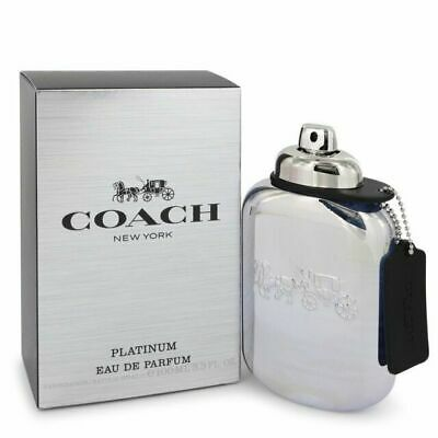 $44.99 • Buy COACH NEW YORK PLATINUM By Coach Cologne For Men EDP 3.3 / 3.4 Oz New In Box