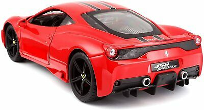 Ferrari 458 Red Speciale Signature Series 1:18 Diecast Model Car Bburago 16903 • 39.98£