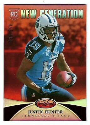 $1.95 • Buy 2013 Panini Certified Justin Hunter RC #/250 Tennessee Titans