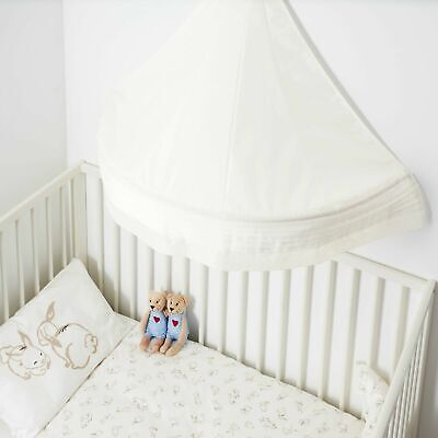 NEW Ikea LEN Bed Canopy White  FREE SHIPPING   • 24.59£