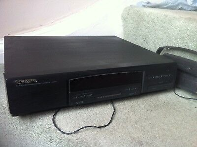 Pioneer F-J220 Tuner - Black * Good Condition * Hi Fi Seperates J210 AM FM • 17.99£