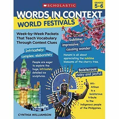 Words In Context: World Festivals: Week-By-Week Packets - Paperback / Softback N • 13.73£