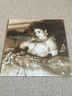 Madonna - Like A Virgin Vinyl LP 1984 Sire Records WX20 A1/B1 VG+ Condition • 8.50£