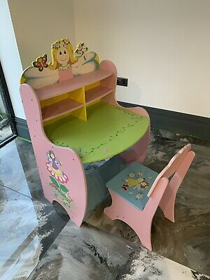 Girls Pink Writing Desk - COLLECTION ONLY • 69£