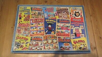 GIBSON'S THE GOLDEN YEARS DANDY & BEANO Complete 1000pc JIGSAW  • 5£