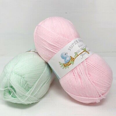 Baby DK By James C.Brett Super Soft Knitting Wool Yarn 100gm  ALL COLOURS  • 2.20£