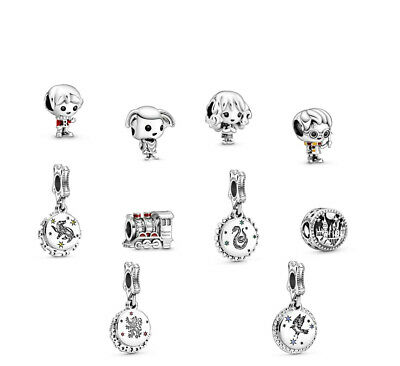 £9.96 • Buy New Authentic Pandora Harry Potter Dobby Hermione Ron Weasley Charm Uk + Pouch