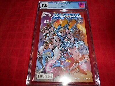 $150 • Buy Masters Of The Universe #1 Cgc 9.8 2002 J. Scott Campbell Cover Invincible Prev