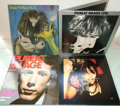 PUBLIC IMAGE LTD-SET 1ST 4 ALBUMS.SUPERB! UK N/MINT VINYL LP's JOBLOT COLLECTION • 58£