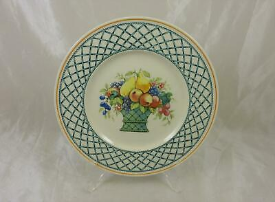Villeroy & Boch BASKET Black Backstamp, Salad Plate, 8 1/2  • 18£