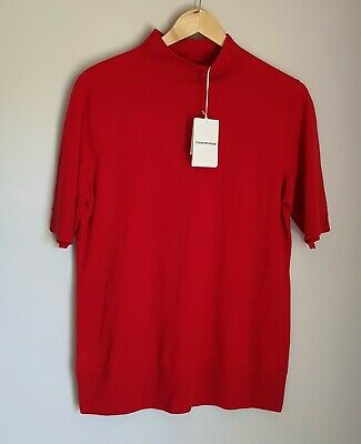 AU38.50 • Buy Country Road Wool Silk Short Sleeve Knit Top Size XL, 16 Scarlet BNWT RRP $119