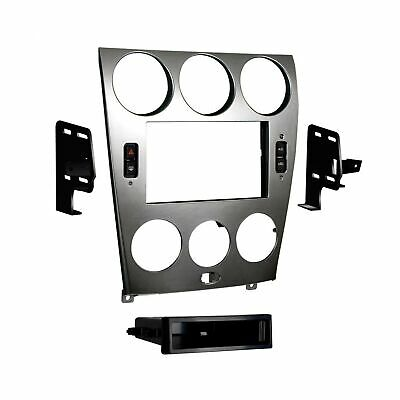 $267.64 • Buy Metra 997523S ISO DIN Radio Install Kit Silver 2003 2005 Mazda 6 Double Parts