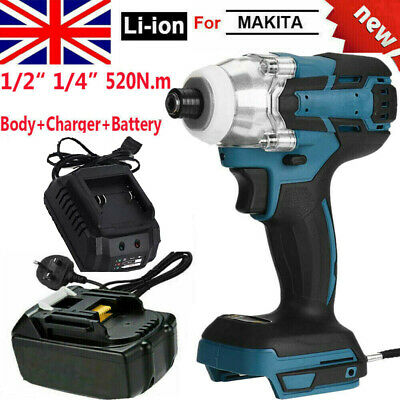 For Makita DTW285Z 18V LXT Li-ion Cordless Brushless 1/2  Impact Wrench Driver • 58.99£