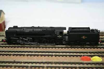 Dapol N GAUGE 9F (DCC Fitted) IN Black With Late Crest Numbered 92226 • 72.55£