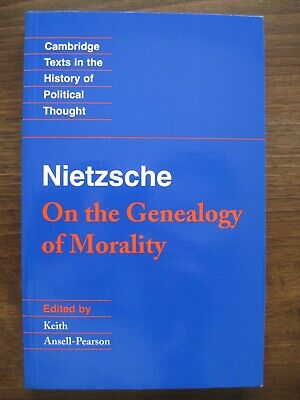 Friedrich Nietzsche : On The Genealogy Of Morality, Paperback By Ansell-Pears... • 11.95£