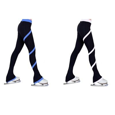 2pcs 100cm Ice Skating Pants Spiral Pants Skate Training Tights Leggings • 37.45£
