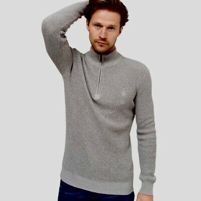 Duck And Cover Firegard Knit Size Xl Grey Marl New • 22£