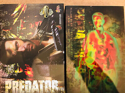 Hot Toys Predator Dutch Major Alan Schaefer 1/6 Figure Dx Mms Action Sideshow • 599£
