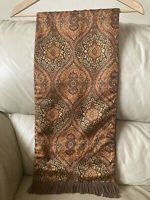 VINTAGE MEN`S TOOTAL SCARF PAISLEY DESIGN-1960s VERY GOOD CONDITION • 12.99£