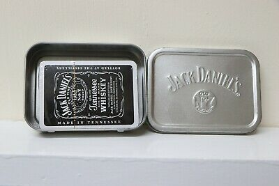 Jack Daniels Playing Cards In Tin - Brand New And Unopened • 2.60£