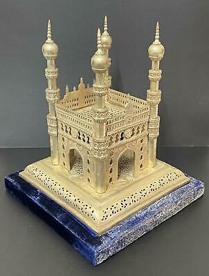 The Charminar Architectural Scale Model - Monument & Mosque Hyderabad India • 124.99£
