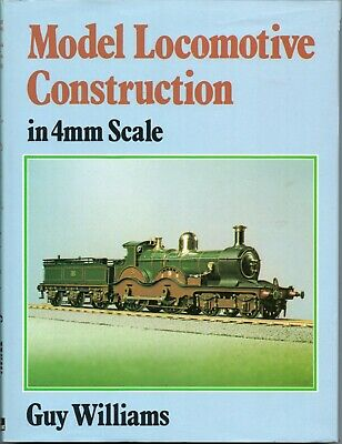 Railway Modelling Book - Model Locomotive Construction In 4mm Scale.  Ian Allan • 3.50£